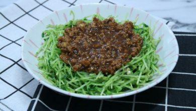 Photo of 【家常美味】台式肉燥飯太肥膩?做「肉燥翡翠苗」吧!高纖惹味好送飯