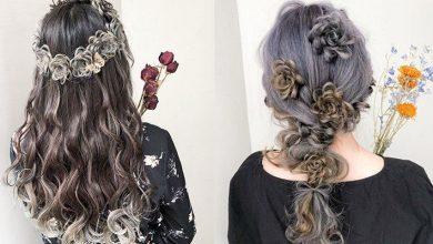 Photo of 漸變色設計超精美!日本超強髮型師的「花花編髮」