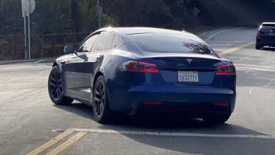 Photo of Tesla 的更新款 Model S 現身 Palo Alto 的街道上