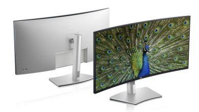 Photo of Dell 推出首款 40 吋超寬曲面螢幕與一系列專為視訊打造的顯示器