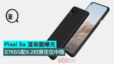 Photo of Pixel 5a 渲染圖曝光,S765G配6.2吋屏定位中階
